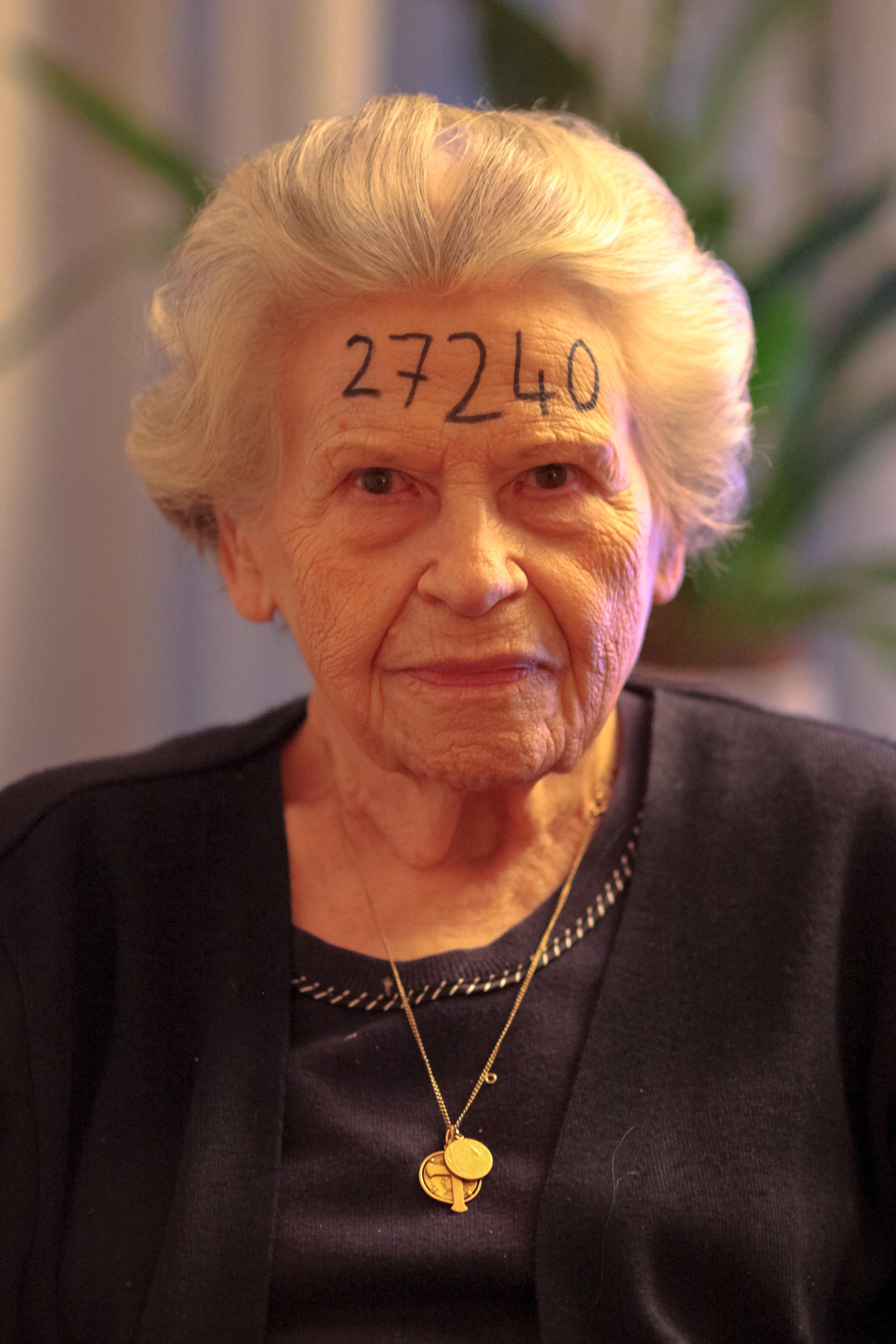 Noella Rouget - Résistante Française et rescapée du camp de concentration de travaux forcés pour femme à Ravenbsbrück