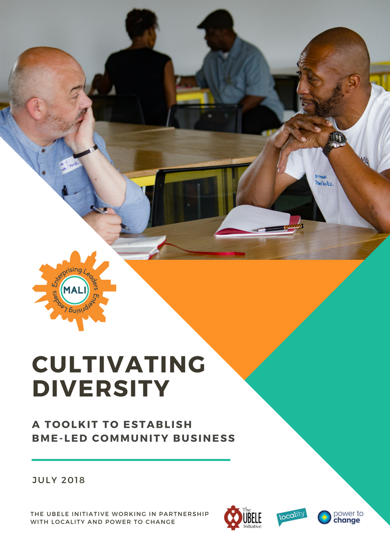 Click to read 'Cultivating Diversity - A Toolkit to Establish BME-led Community Enterprise'