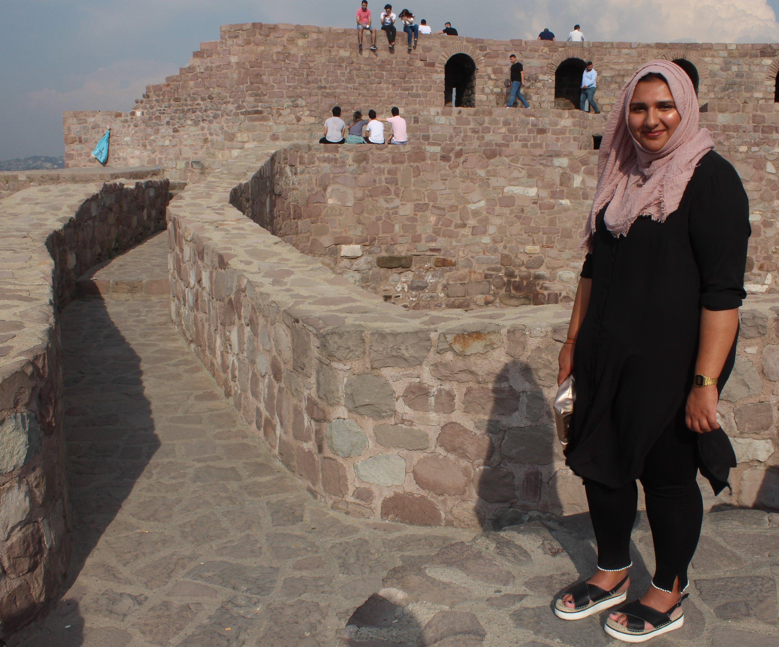 Aisha on top of castle 2.jpg