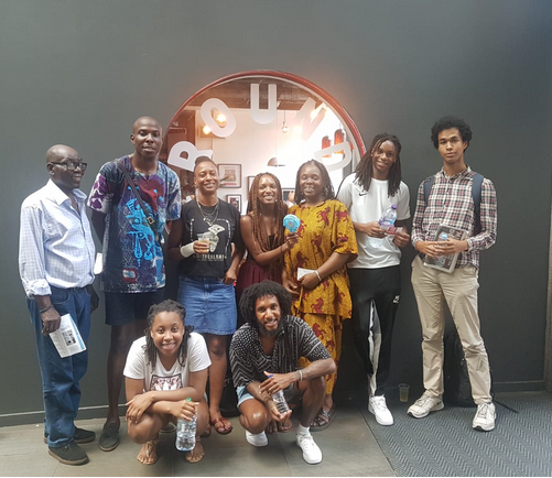 Last week, we invited our friends from Kori Youth Charity to see The Barber Shop Chronicles.