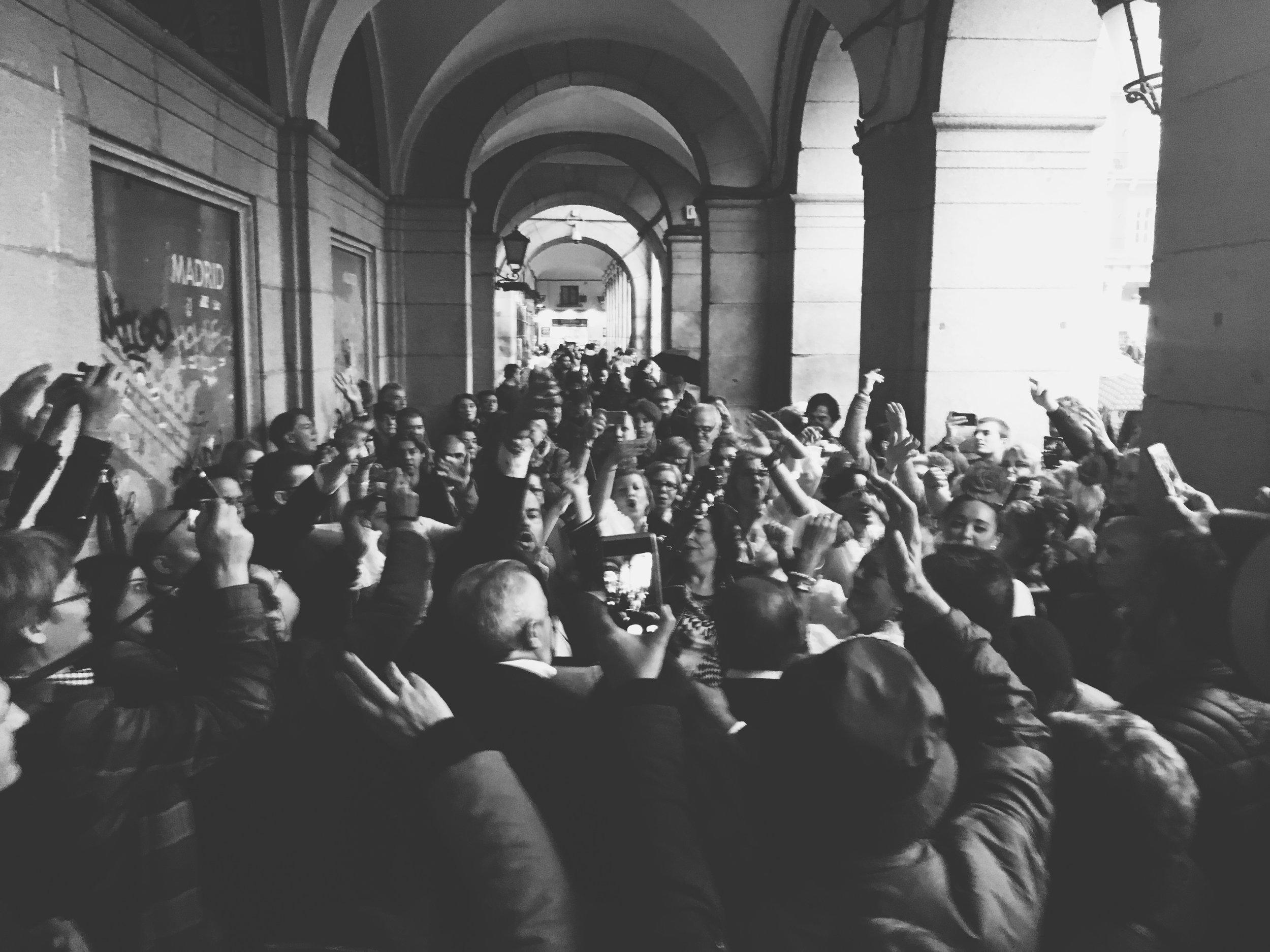 Media Frenzy - Madrid, Spain 2016