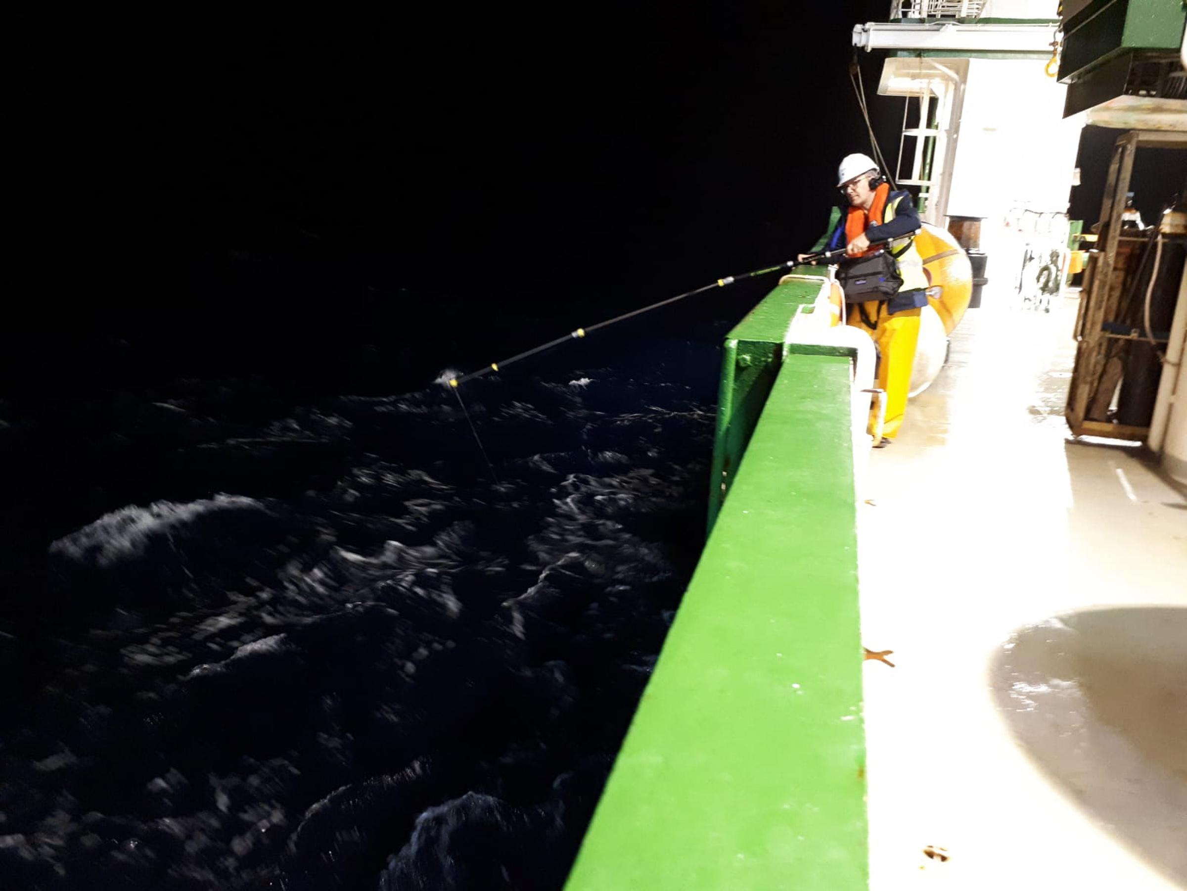 1. David Stalling Aerial Sparks_ RV Celtic Explorer 2018_Nightly underwater sound recording. Image by Sergei Lebedev.jpg