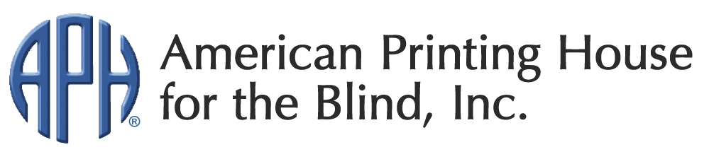 Copy of Copy of Copy of Copy of American Printing House for the Blind (APH) logo