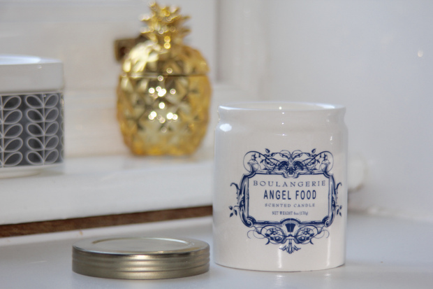 Anthropologie Angel Food Candle
