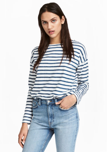 H&M Breton Stripe The Style Stories blog