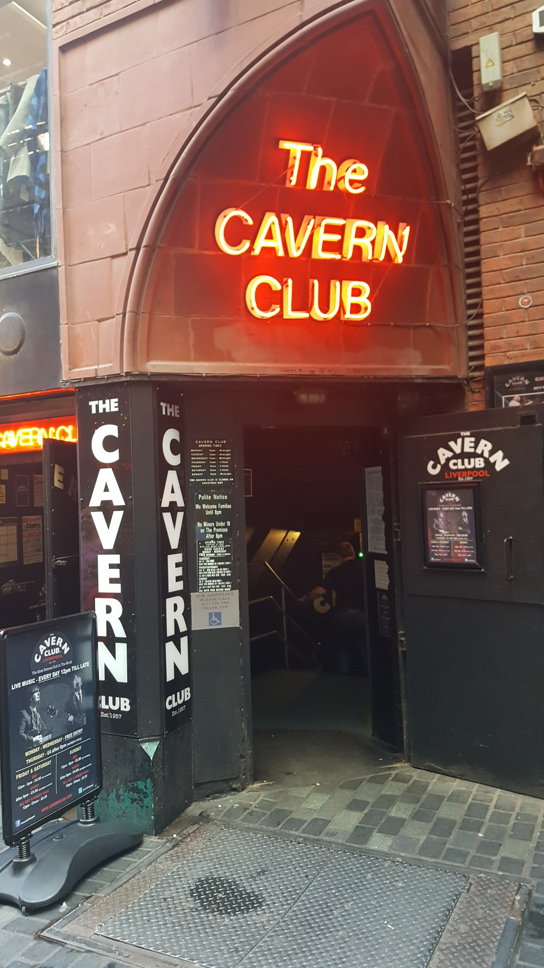 the style stories liverpool city guide cavern club