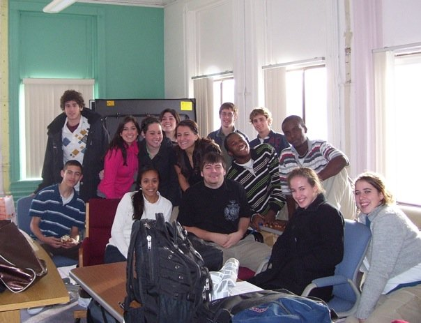 Senior Class at Mount Zion School
