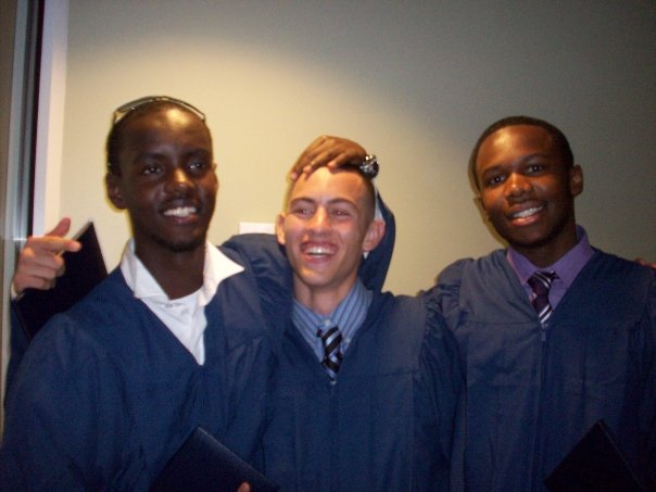 Graduation at Mount Zion School