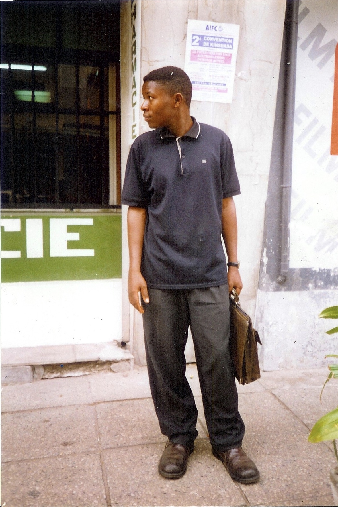 This is a photo of Crispin, he helped my mother tell our story to different NGOs