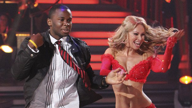Deo On ABC DWTS - Deo Co-Choreographed the number with Kim Johnson, professional dancer in the show at the time.