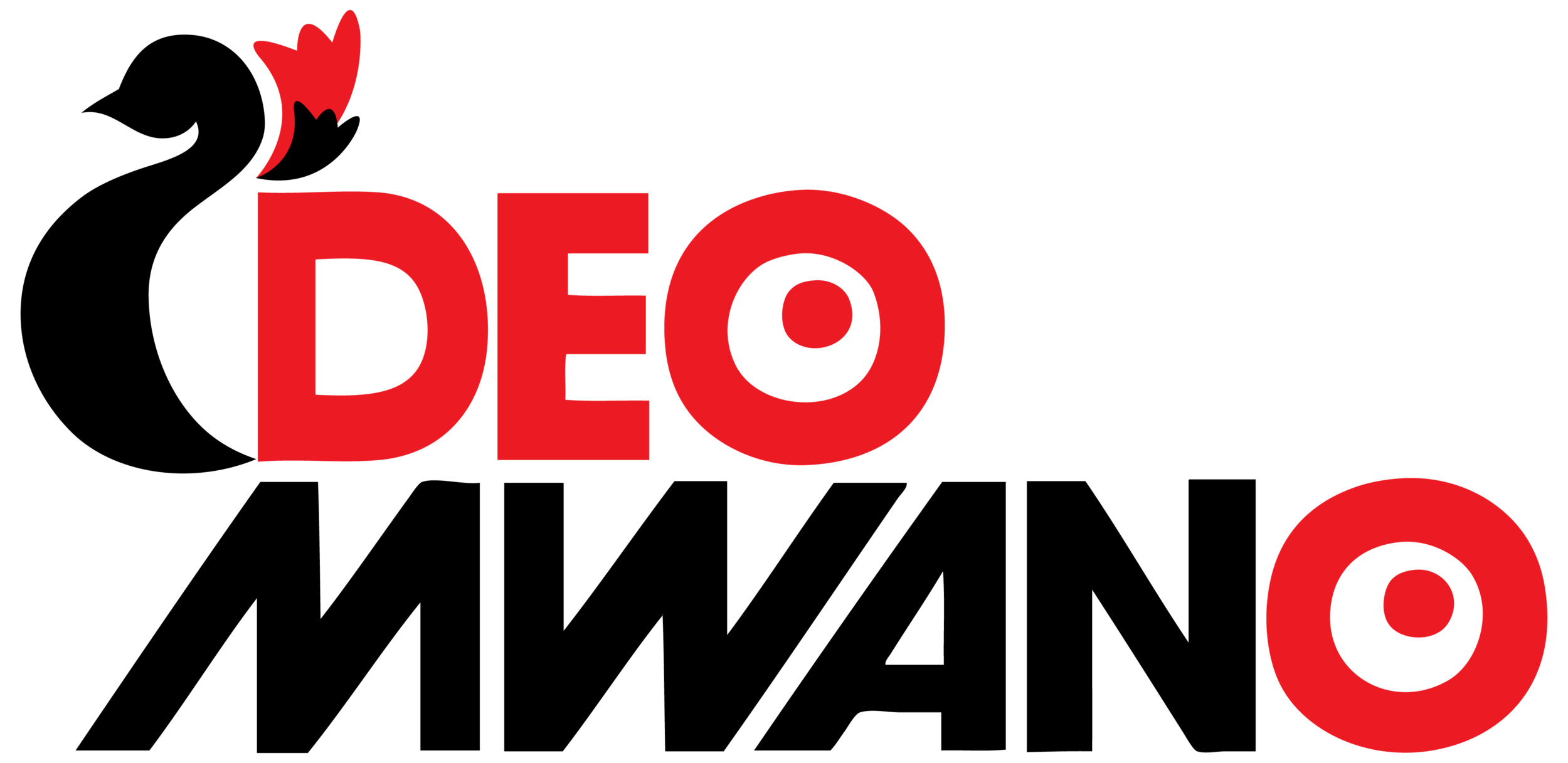 Deo Mwano logo Diego created after taking advice from Travis and Kyle York.