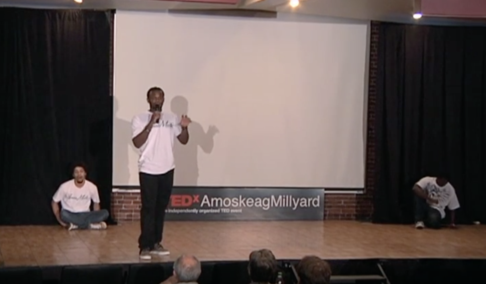 Deo presenting at Tedx AmoskeagMillyard 2011