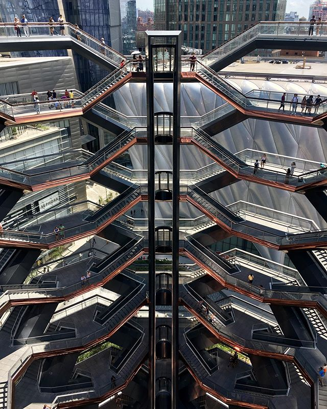 No filter needed @thevesselnyc @hudsonyards