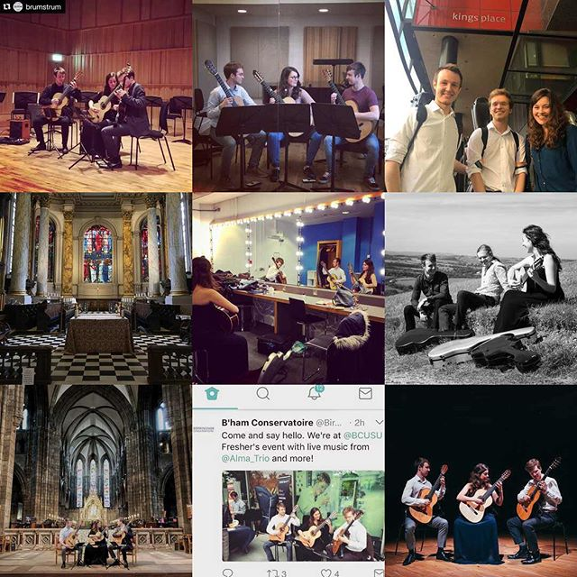 Happy New Year to all of our followers! We've had an amazing year in 2017 and we have a lot more coming up in 2018, so stay tuned and thanks for your support! #2017bestnine #classical #guitar #birmingham #edinburgh #stmarys #fringe #festival #kingsplace #london #stphillips #birminghamcathedral #royalbirminghamconservatoire #rbc #city #musicians #ensemble #almagt #trio #guitartrio #2017 #2018 #newyear #tour #bcu #venue #concerts