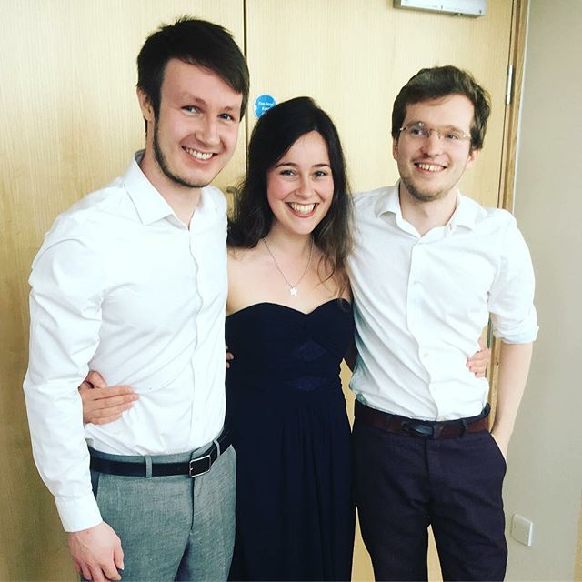 Thank you so much to everyone who came to see our Final Recital on Thursday for our Masters at the Royal Birmingham Conservatoire. We really appreciate the support and we had a lot of fun to playing in the Organ Studio! 🎼🎉MMus ✅ #almagt #guitar #trio #ensemble #mmus #royal #birmingham #conservatoire #rbc #music #college #westmidlands #organstudio #music #venue #live #concert #performance