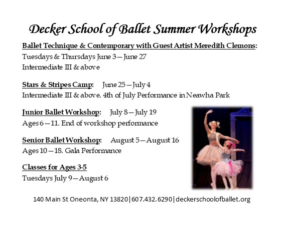Dancer in the family? Looking to start? Here are a few great ways to get them started!