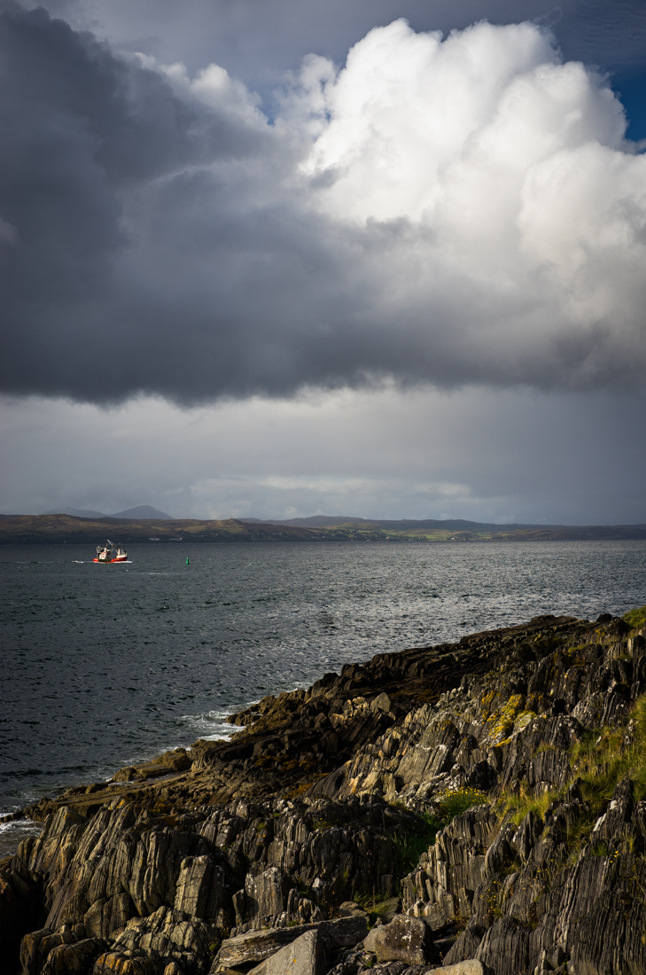 Looking out to Skye in the distance
