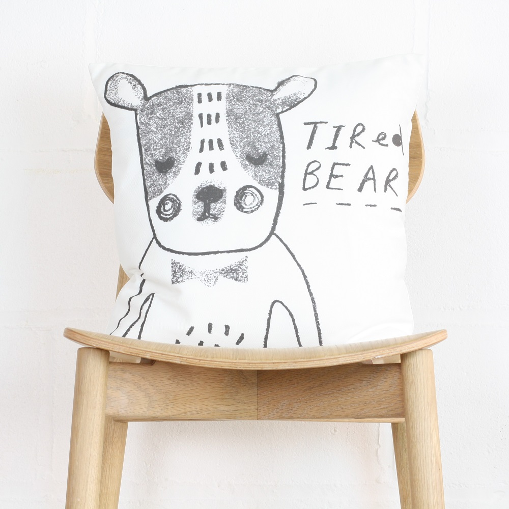 Illustrative Sponge   the designer behind illustrative sponge, krysia, is a bag of talent. Her funny designs using animals and puns create fantastic illustrations to be used as gifts.  Illustrative Sponge has worked with jollysmith on a range of products including prints, cushions, aprons, and cards. Also our best selling personalised product - Personalised Animal Alphabet print.