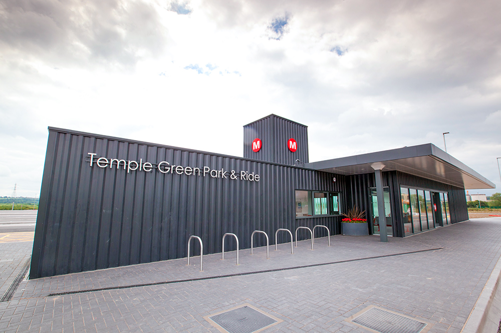 park and ride at temple green