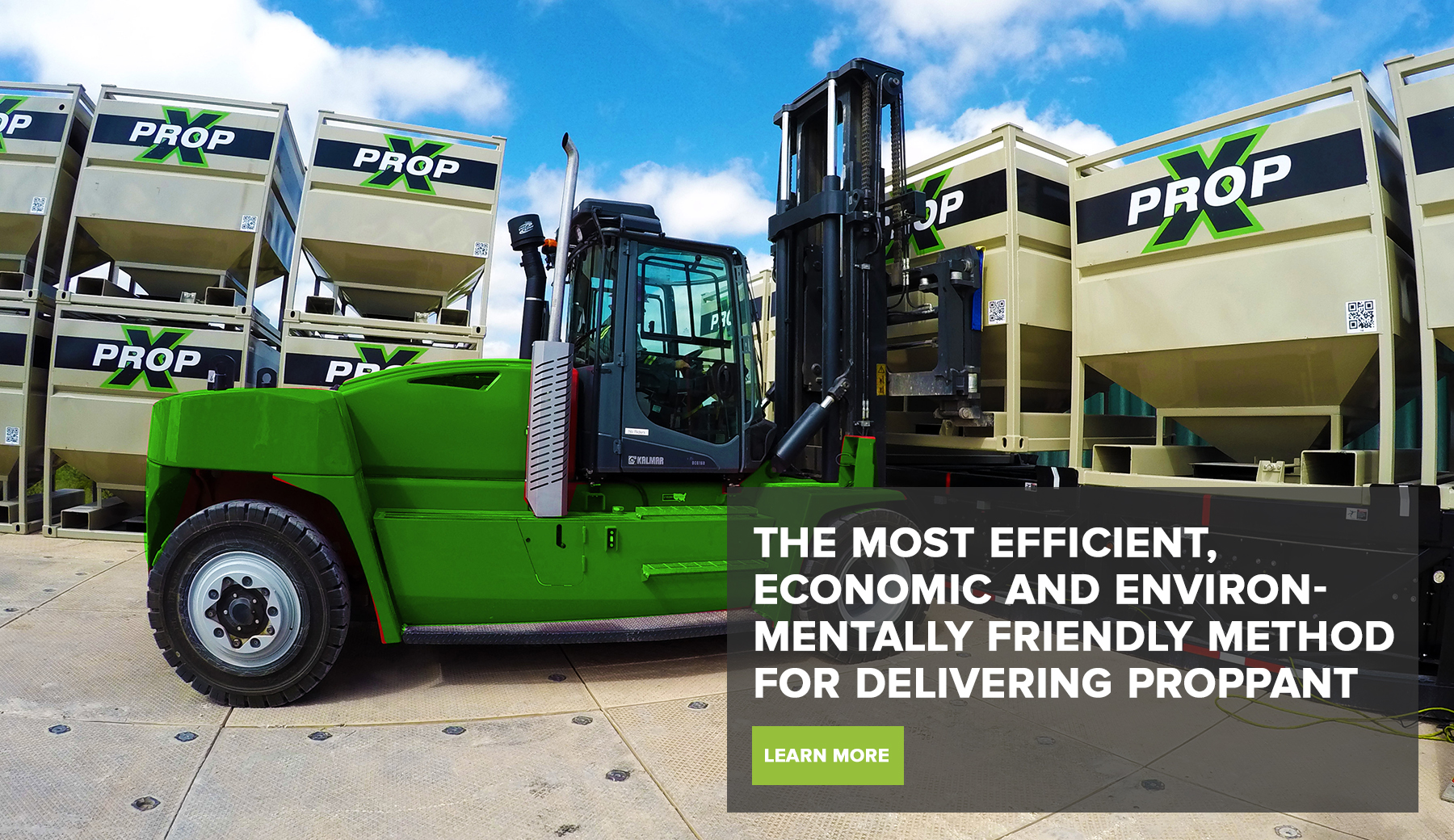 The Most Efficient, Economic and Environmentally Friendly Method For Delivering Proppant