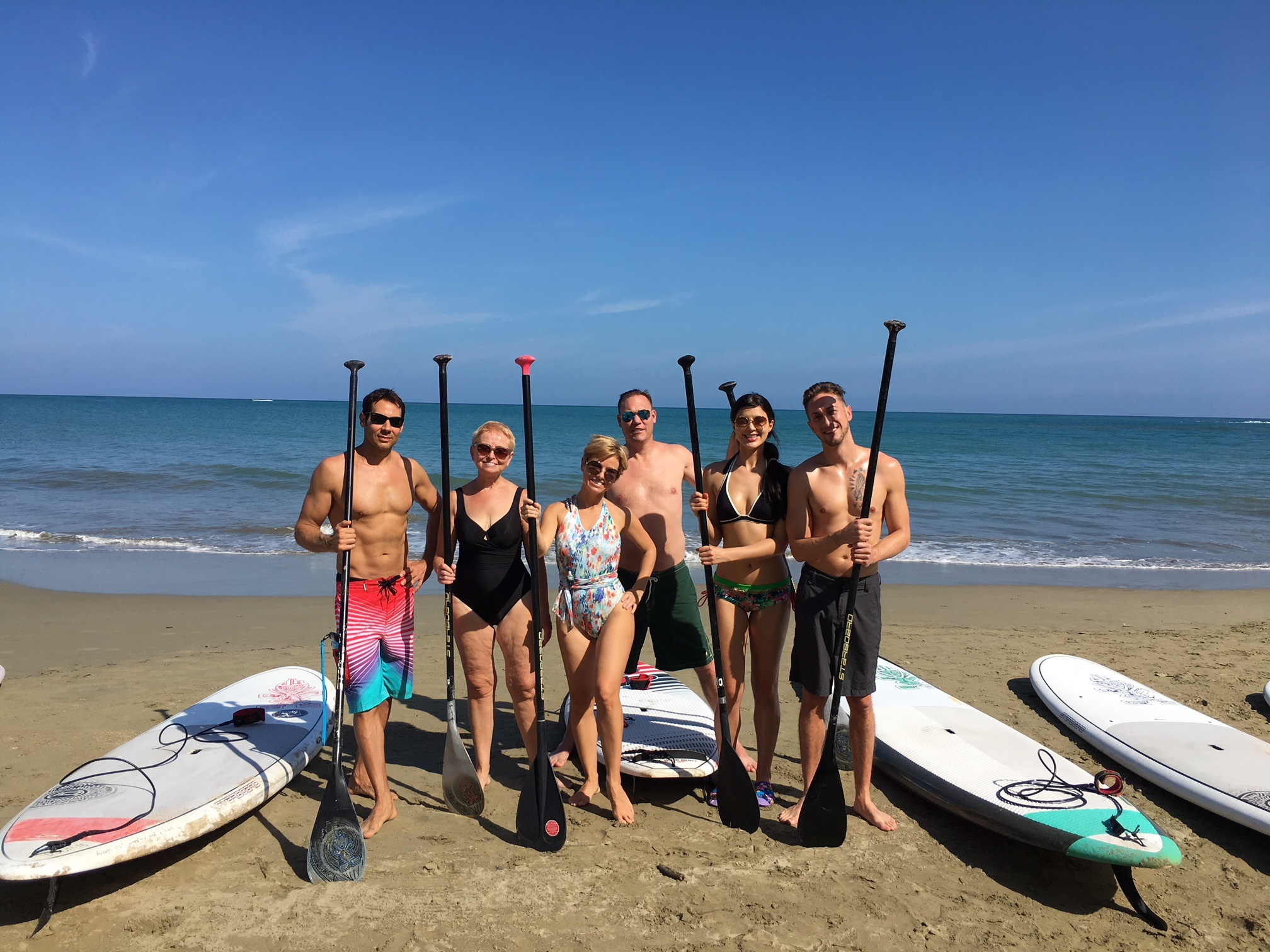 Health is all about Balance: Paddle Boarding!