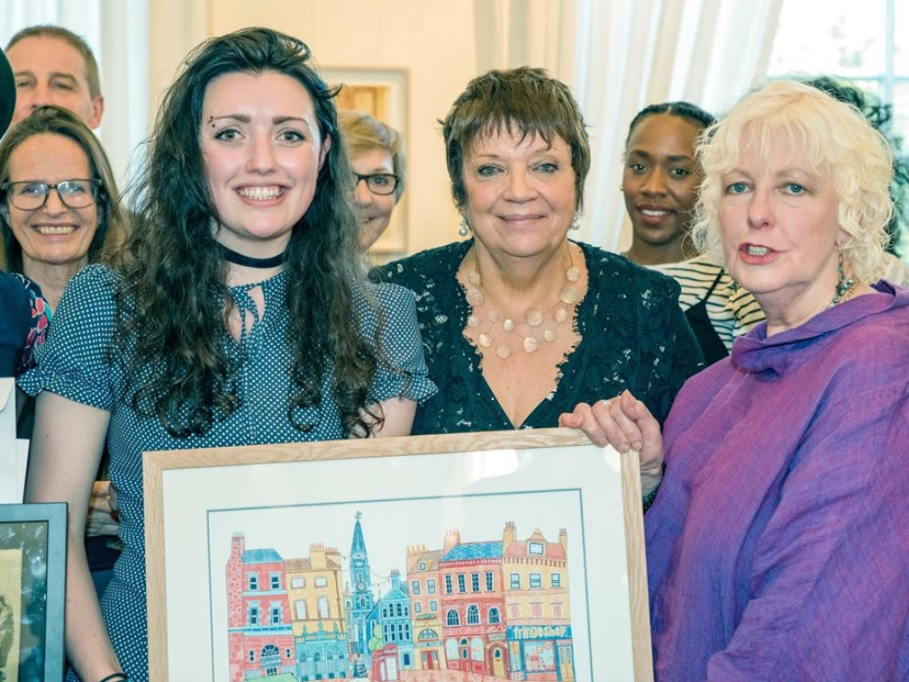 Julia carstairs, winner of the first bright spark award 2016