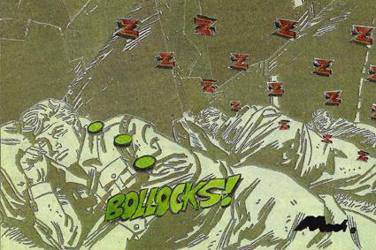 bollocks (252) collage, 100 x 150 £300