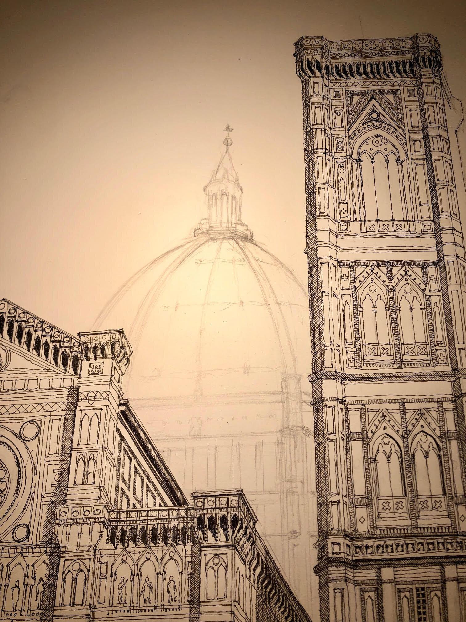 Unfinished Florence.