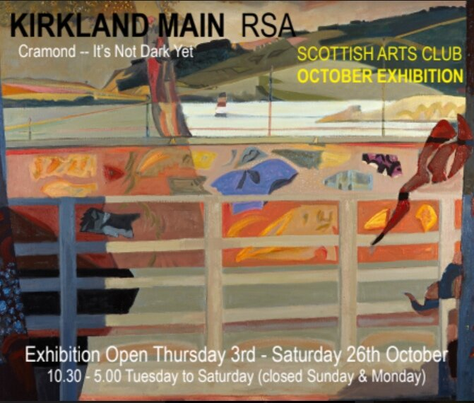 Preview Wednesday 2nd Oct, 6-8pm, open to our members and their guests, or by invitation..