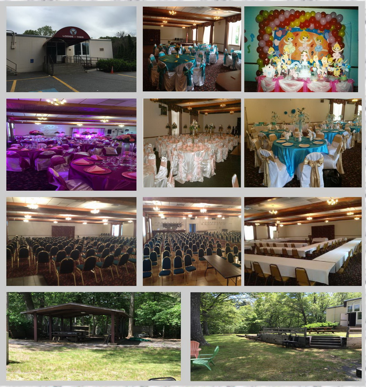 Function Hall & Outdoor Area