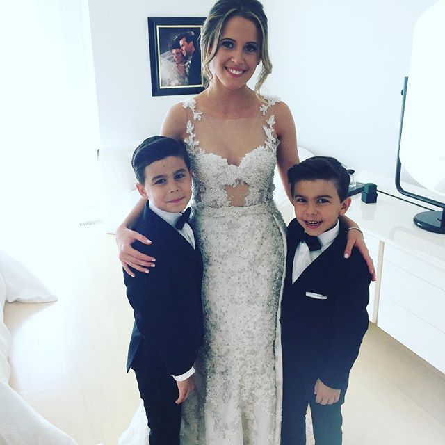 Jonathan this for you!! Thank you for the beautiful suits! My boys looked fabulous!!#sabrinaandryanswedding #jonathanmilz #myhandsomeboys #jmilzy