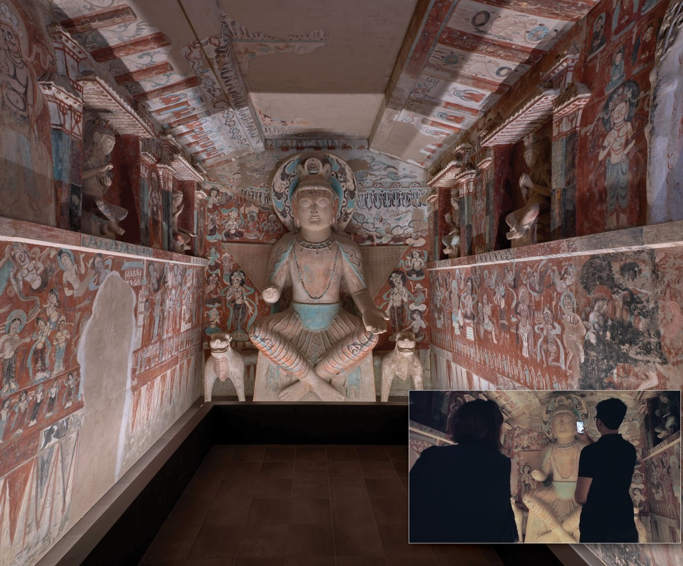 Special   Achievement    Cave Temples of Dunhuang: Buddhist Art on China's Silk Road    The Getty Research Institute and The Getty Conservation Institute, Los Angeles   for commitment to comprehensive research and conservation