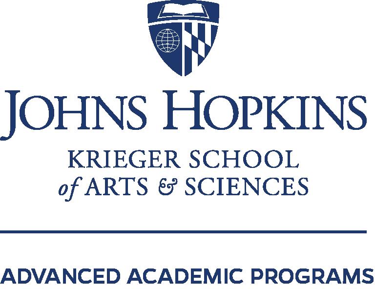 Copy of John Hopkins University Krieger School of Arts and Sciences