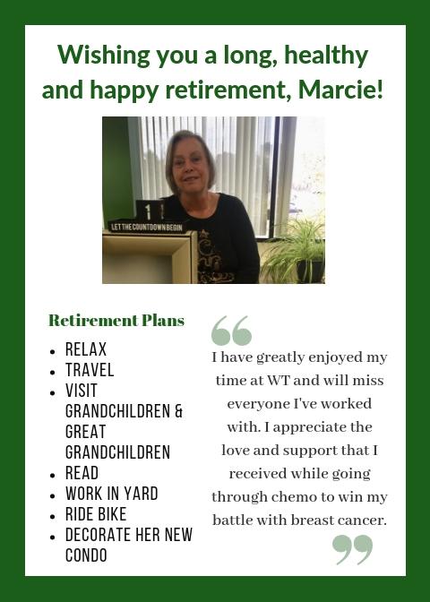 Marcie Ober Retirement