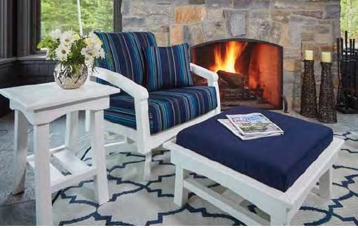 Recycled Plastic Mats:  Durable, long lasting, and stylish for your outdoor living space.