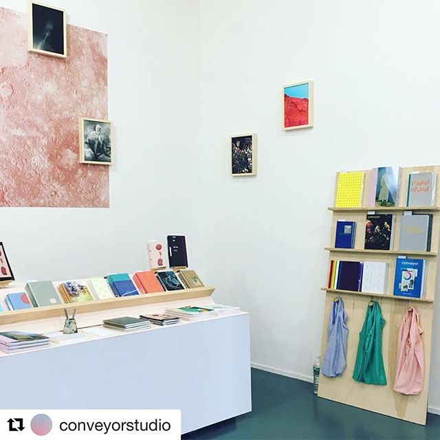 #Repost @conveyorstudio ・・・ Come visit @conveyorstudio at booth X07 this weekend at #nyabf I have some new work in Mercuria Magazine and some limited edition poster prints available. Other beautiful prints from @antonedolezal @athenatorri @brendangeorgeko too!