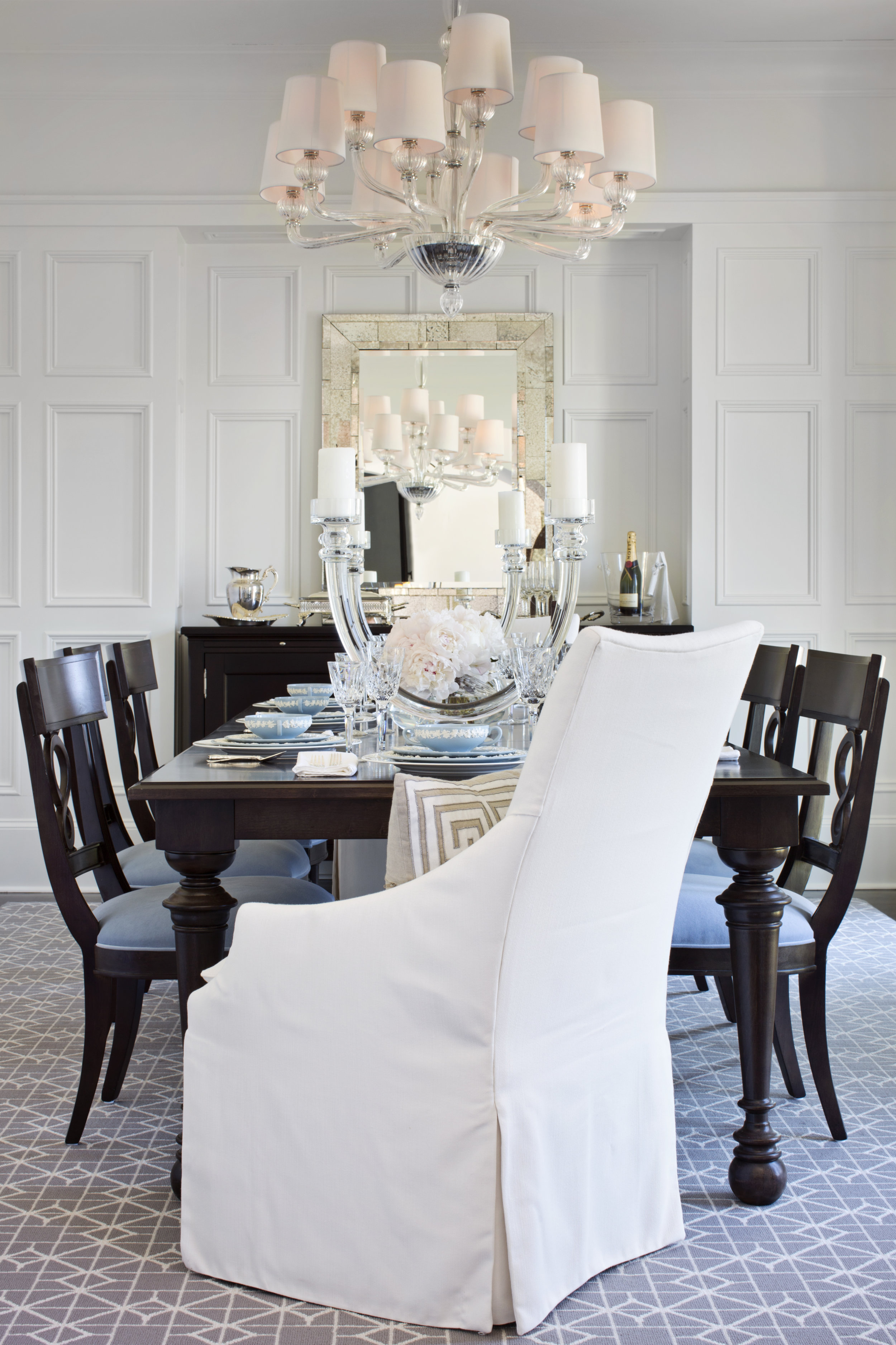 © Traci Rhoads Interior Design, Private Residences and Country Clubs, Athens, GA