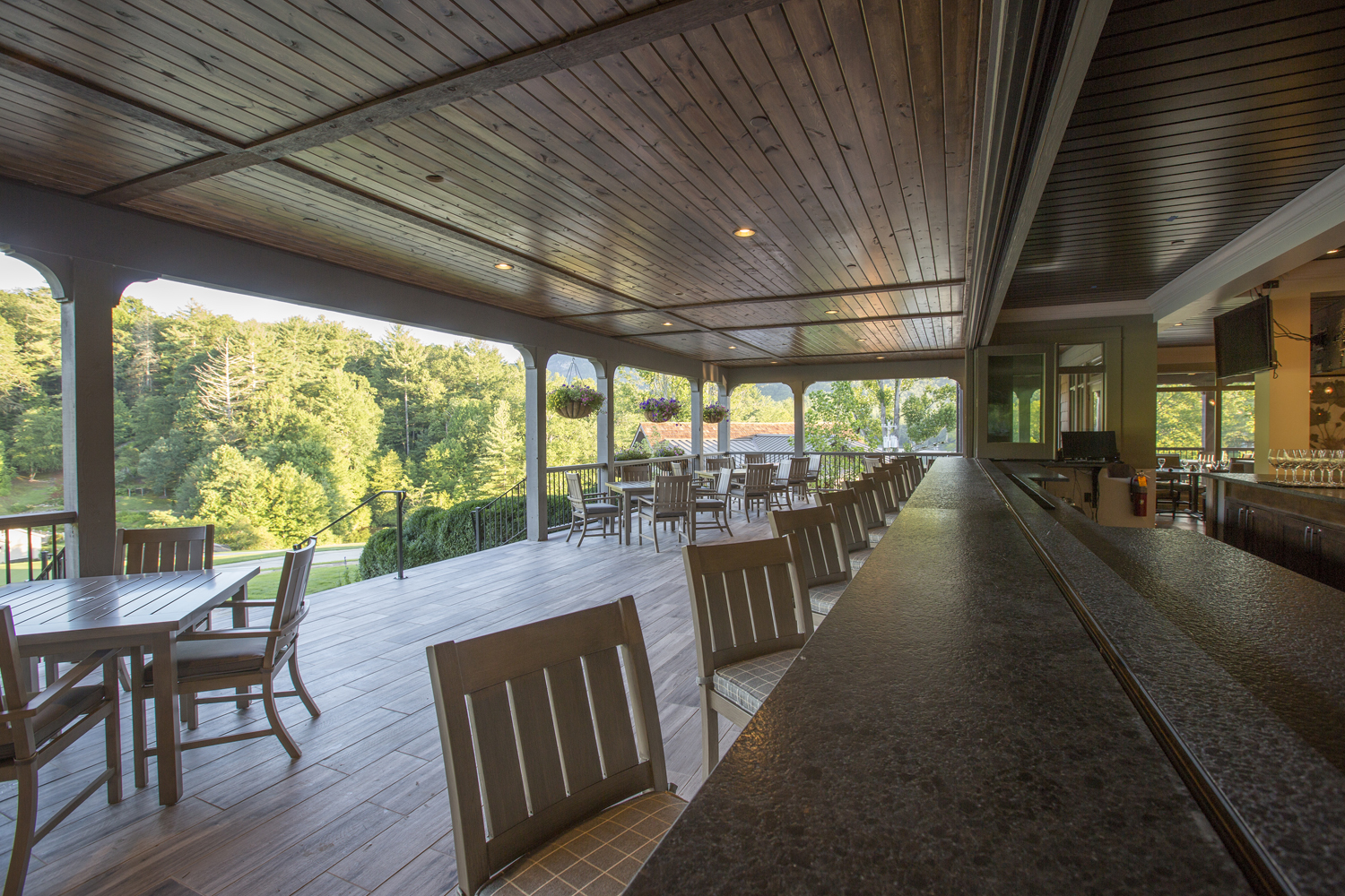 © Traci Rhoads Interior Design, Private Residences and Country Clubs, Lake Toxaway, NC
