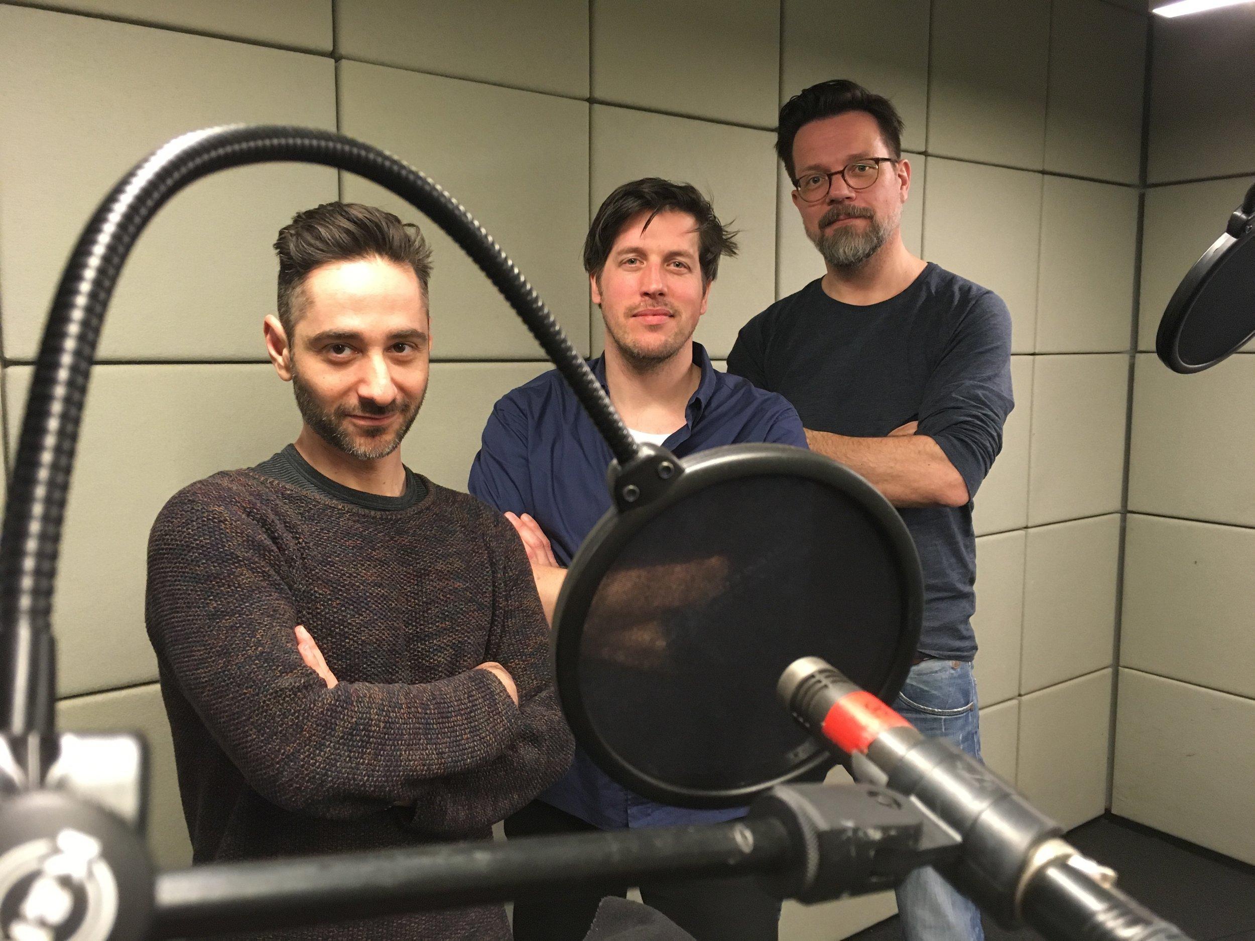 Denis Moschitto, Nic Romm, Stuart Kummer