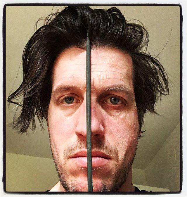 I feel like parts of me are getting old. #linksmitfalten #stäbchenaufdernase #makeuptest
