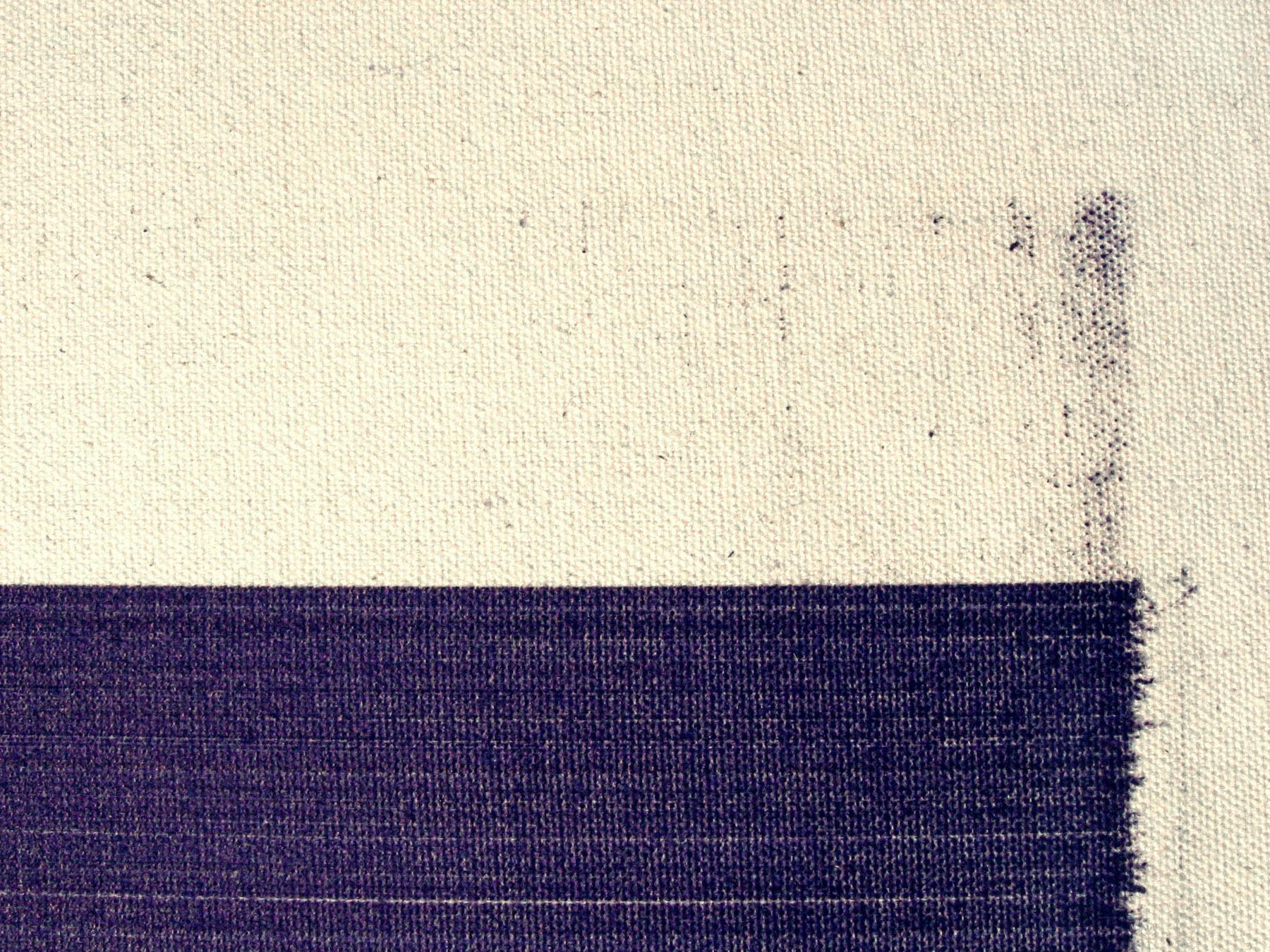"Orthodoxy  (detail) 2006 ballpoint pen on canvas 84 x 48"" / 213 x 122 cm"