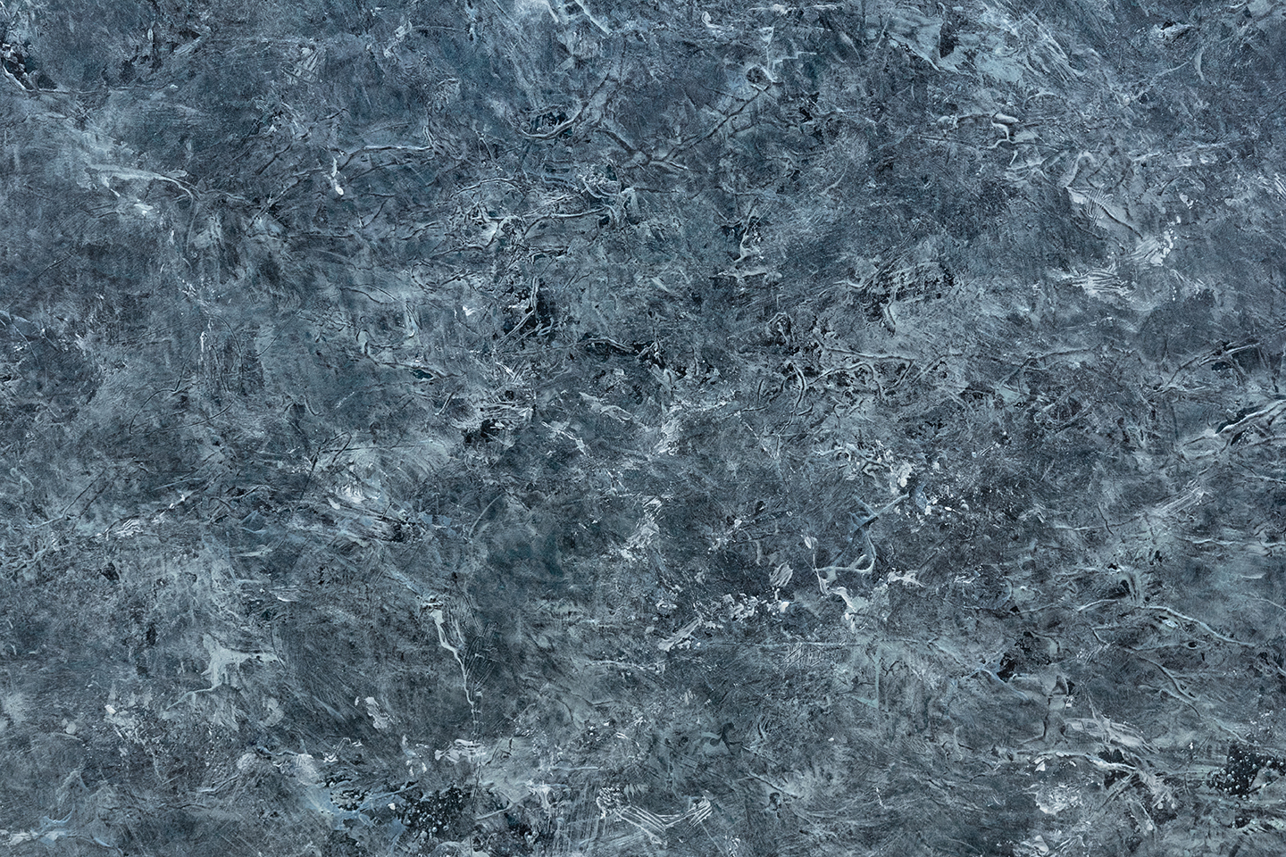 "Superior  (detail) 2019 oil, sand, and iron filings on canvas 85 x 60"" / 216 x 152 cm"