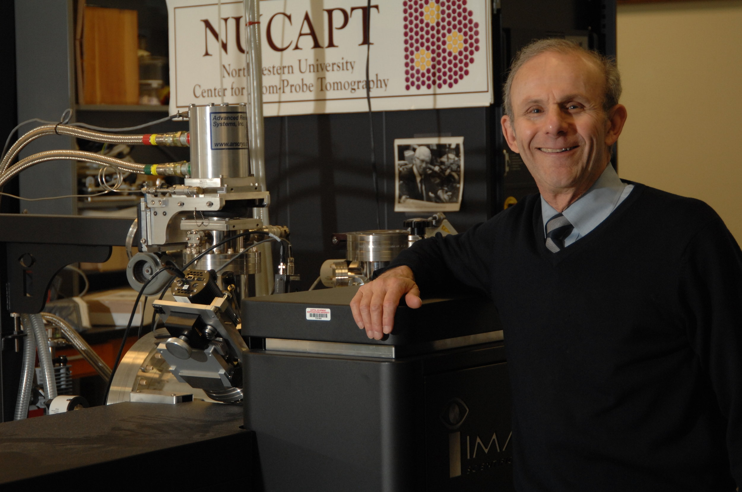 NanoAl Co-Founder, Professor David Seidman, Receives ASM Gold Medal - Professor Seidman will receive the prestigious award at MS&T19.