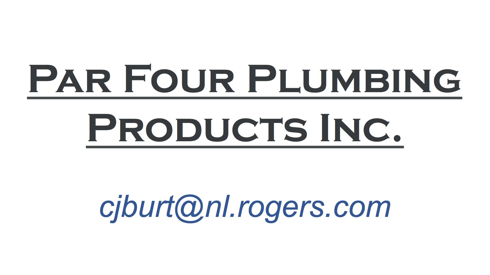 Par Four Plumbing Products