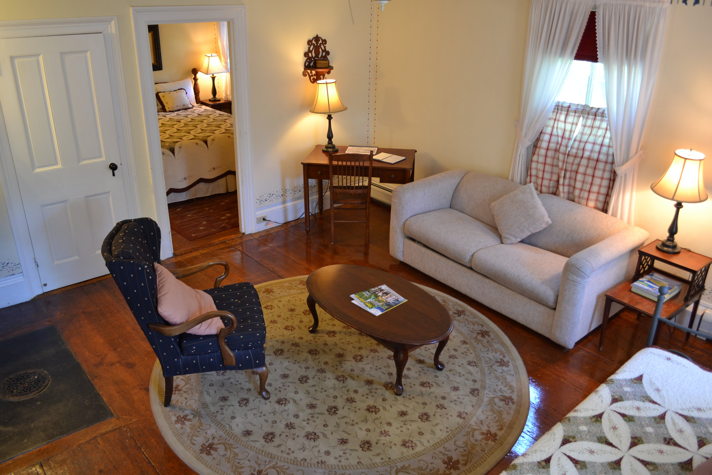 The Presidential Suite - The Dowds' Country Inn - Lyme, NH