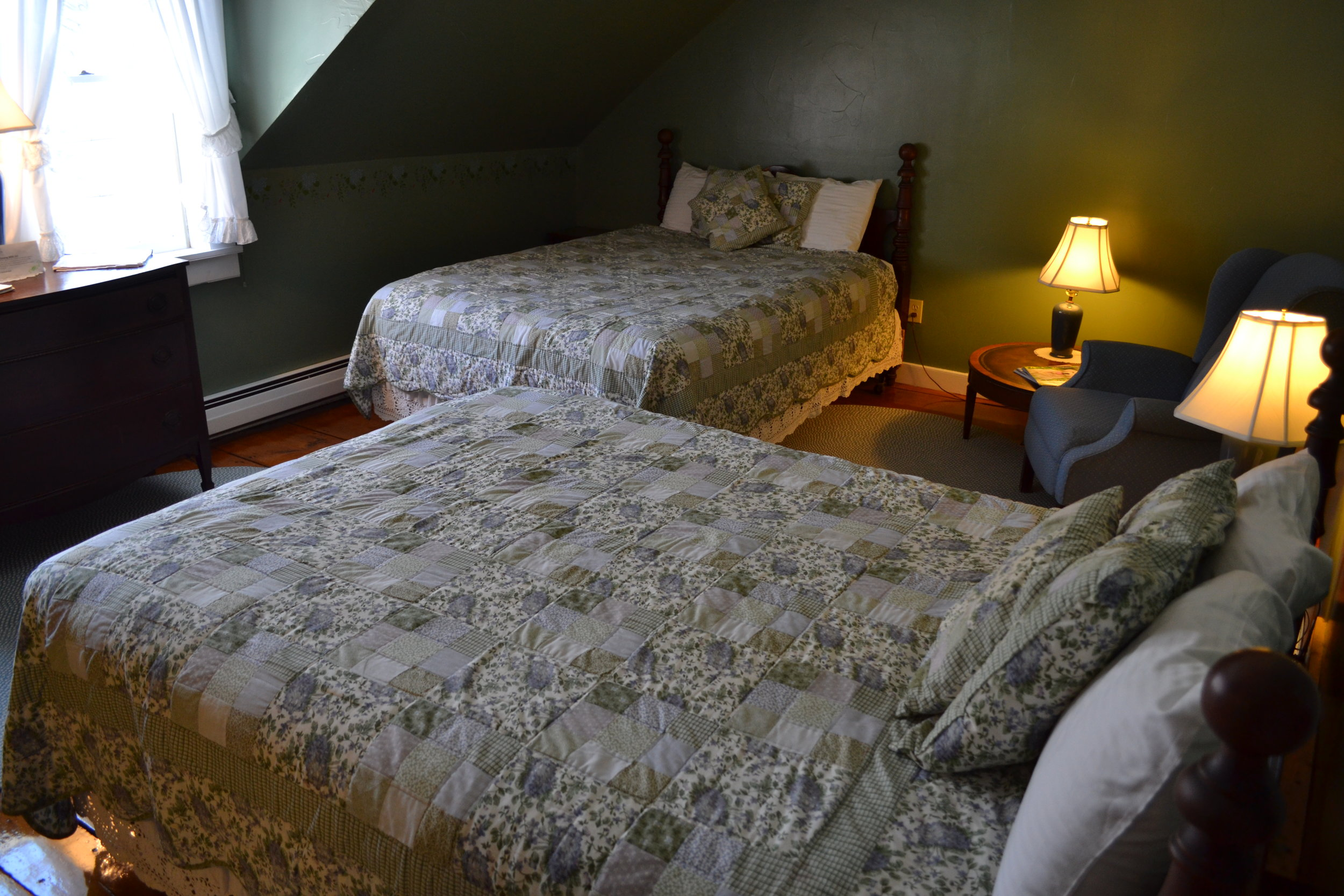 The Dartmouth Room - The Dowds' Country Inn - Lyme, NH