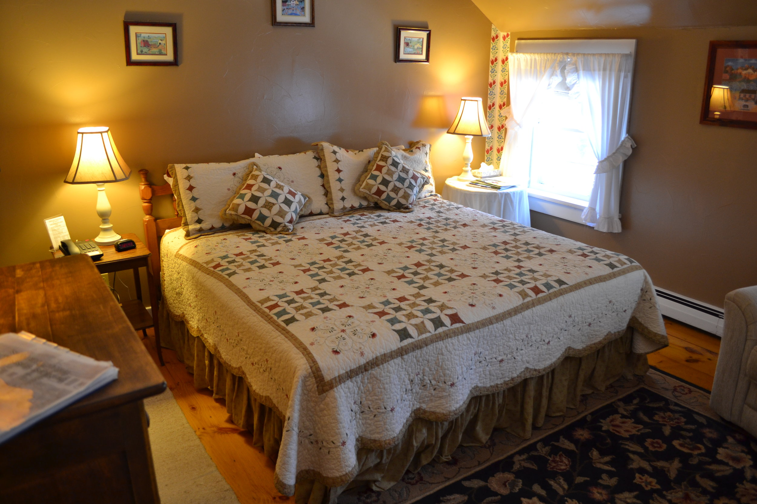 The Wheelock Room - The Dowds' Country Inn - Lyme, NH