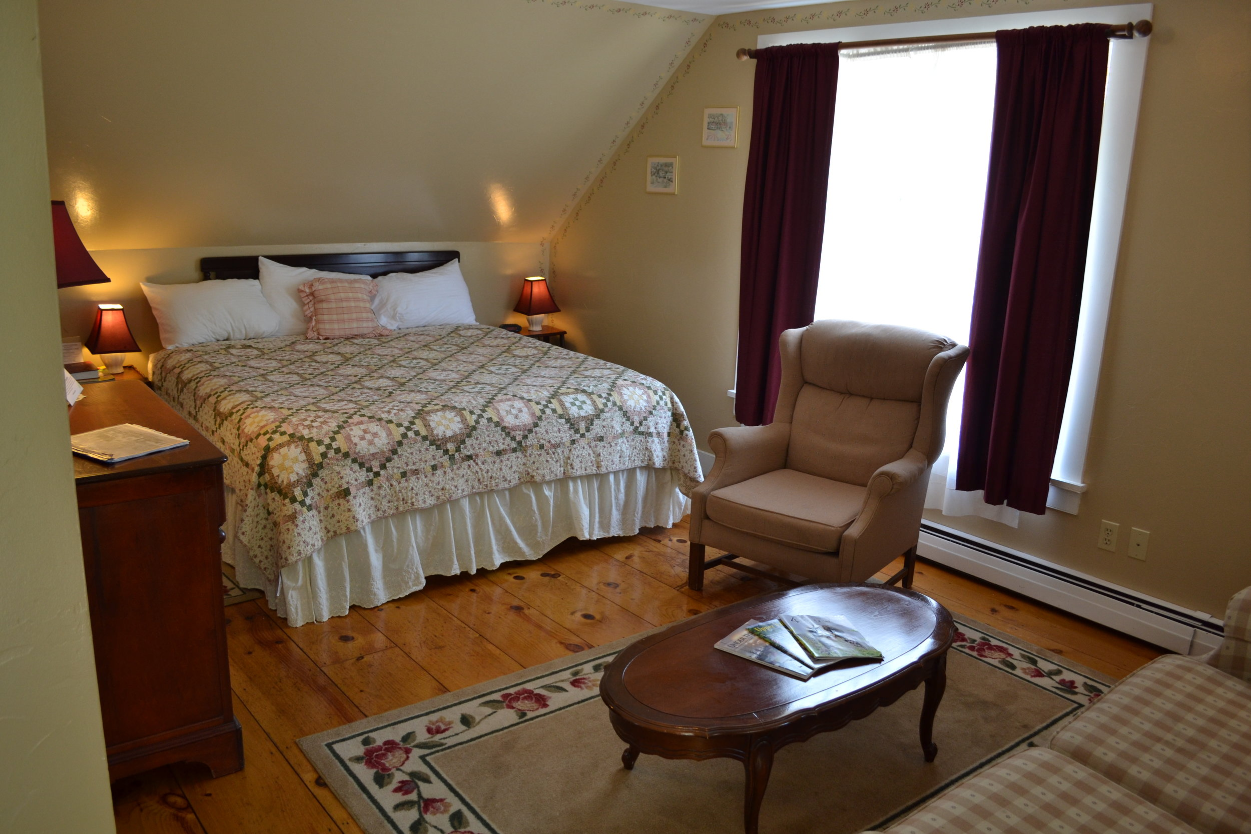 The Fairweather Suite - The Dowds' Country Inn - Lyme, NH