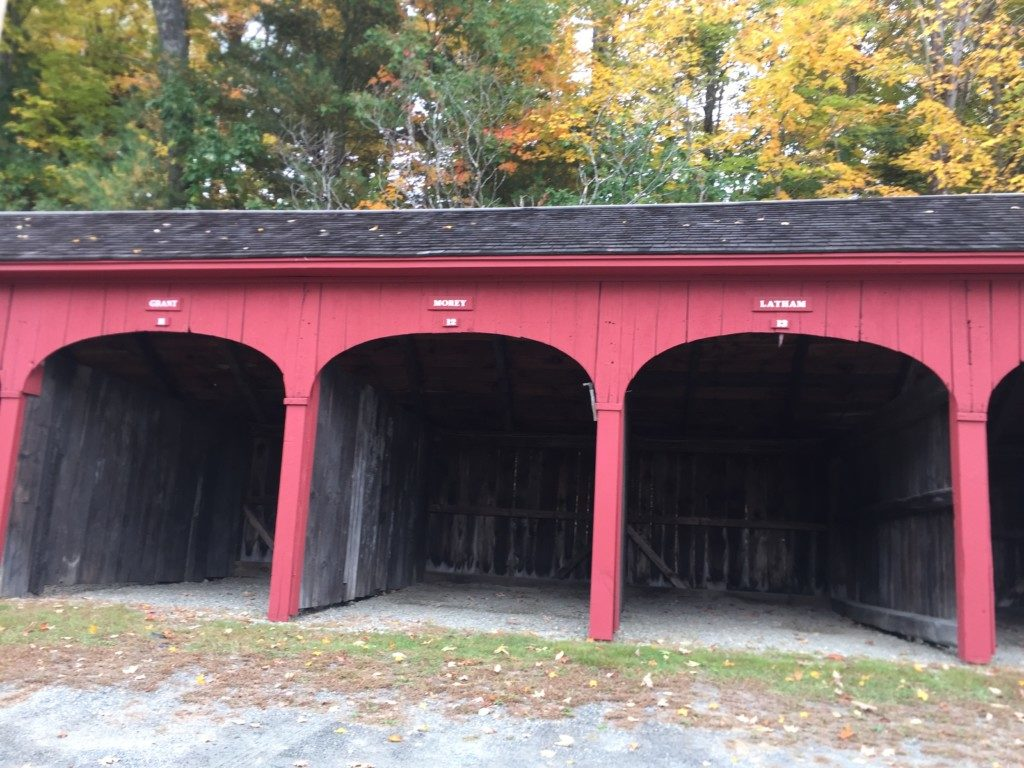 Lyme Horse Sheds near Lyme Congregational Church