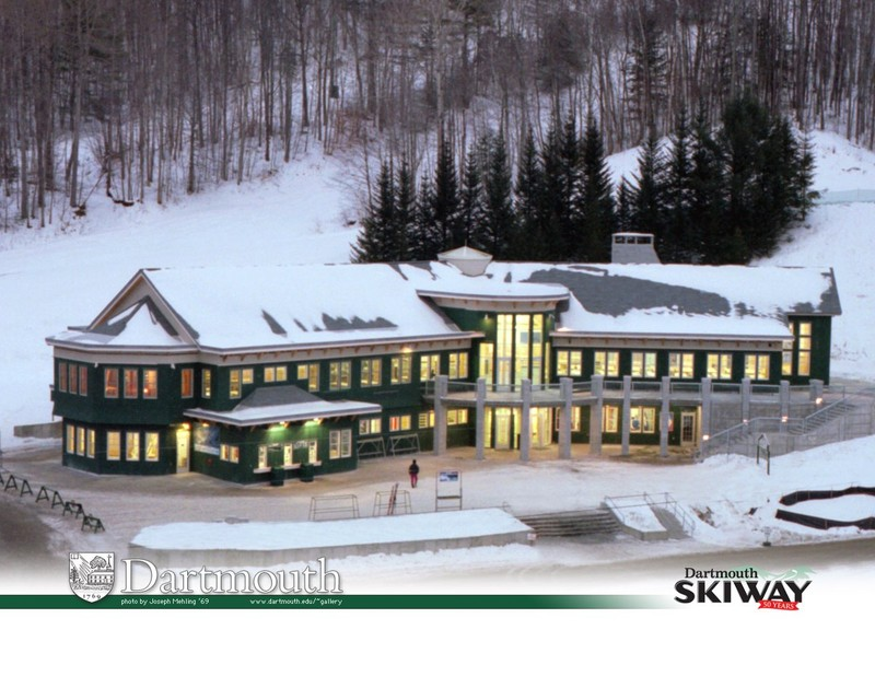 The McLane Family Lodge at Dartmouth Skiway